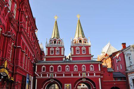spassky: Log on to krassnuyu area Spassky Gate Kremlin Moscow History