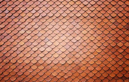 Roof tiles of classic Buddhist Stock Photo - 7878455