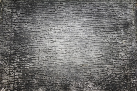 bumped: Close up of old leather texture for background Stock Photo