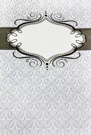 レストランのメニュー テキストのための場所とヴィンテージ デザイン 写真素材 - 8779535