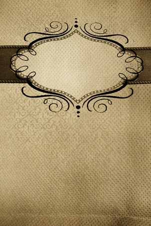 restaurant menu, vintage design with place for text