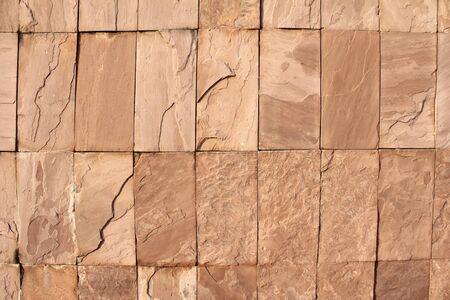 edad de piedra: Hermosa muralla con grietas y textura