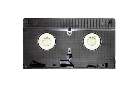 vintage video cassette isolated on a white background Stock Photo - 9055594