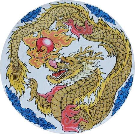 伝統的な中国のドラゴン 写真素材 - 10318599