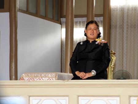 BANGKOK - MAY 26 Royal Highness Princess Maha Chakri Sirindhorn attend the funeral Chumphon Sinlapa-a-cha at Thepsirin temple on May 26, 2013 in Bangkok,Thailand 報道画像