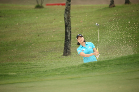 Chonburi, Thailand - FEB 20 Ryu Yeon So of South Korea in action during Honda LPGA Thailand 2014 at Siam Country Club Pattaya Old Course on February 20, 2014 in Chonburi, Thailand