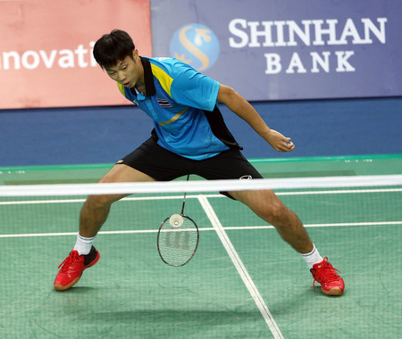 INCHEON - SEP 25:Boonsak PONSANA of Thailand participates in 2014 Incheon Asian Games at Gyeyang Gymnasium on September 25, 2014 in Incheon, South Korea.
