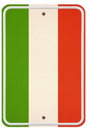 metal sign: Vintage Italy metal sign