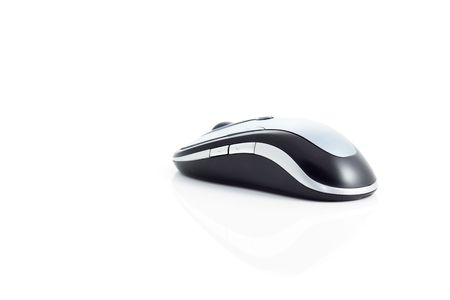 Wireless Mouse on white background Stock Photo - 6258611