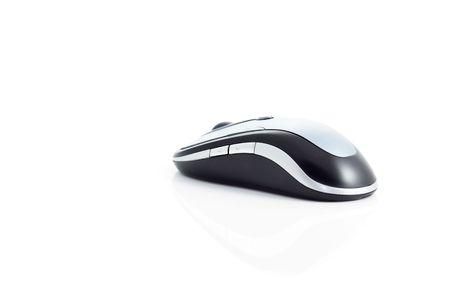 Wireless Mouse on white background Stock Photo - 6258611