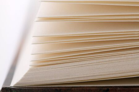 prose: Close-up shot of pages of a book