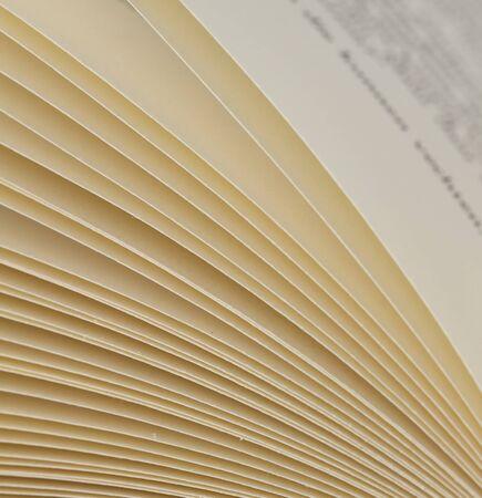Gros plan des pages d'un livre