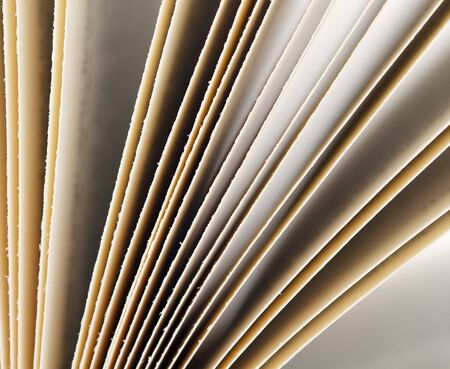 Close-up shot of pages of a book photo
