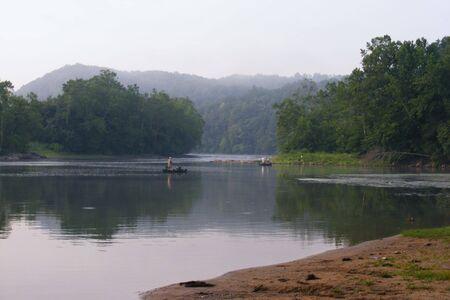 Saturday on the New River Stock fotó - 3436657