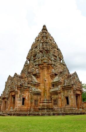 rung: Temple of Phanom Rung Stock Photo