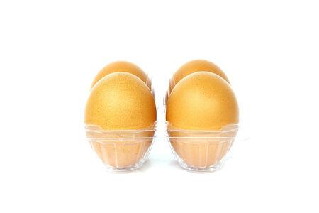 Eggs pack  Stock Photo