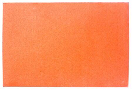 Orange paper Stock Photo