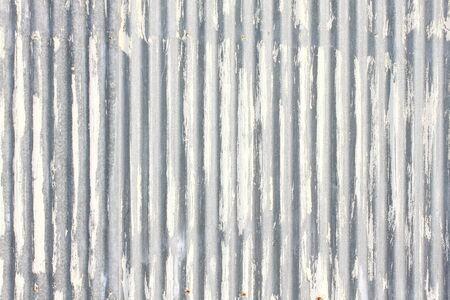 corrugated steel: Galvanized iron