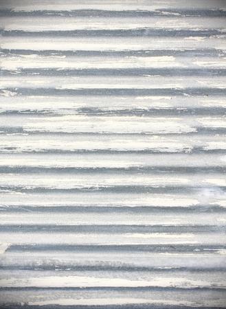 corrugated iron: Galvanized iron