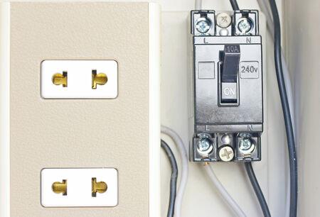 switch plug: Plug Switch  Stock Photo