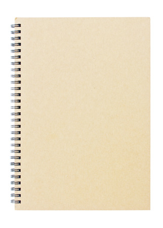 diary cover: Brown notebook Stock Photo