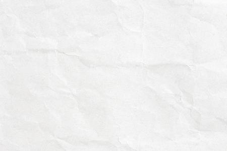 Grey crumpled paper texture Stock Photo