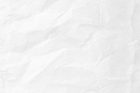 Old white crumpled background paper texture
