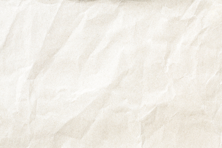 Old brown crumpled paper texture Imagens