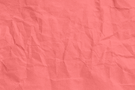 Crumpled red paper texture