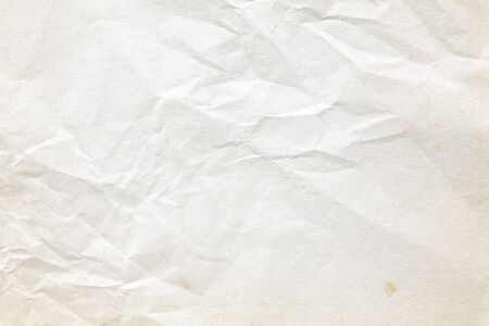 Old brown crumpled paper texture 免版税图像