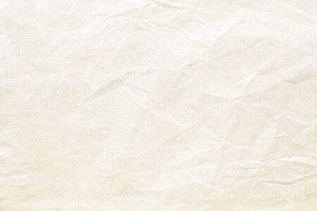 Vieja textura de fondo de papel arrugado marrón Foto de archivo