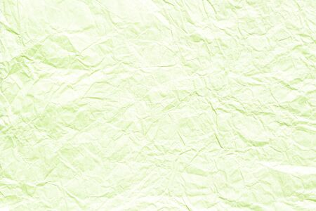 Light green crumpled background texture