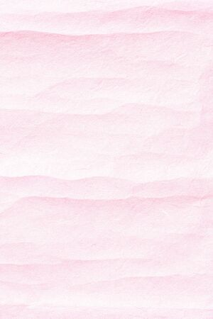 Old crumpled pink paper background texture