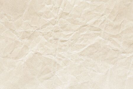 brown crumpled paper background texture Stockfoto - 130666190