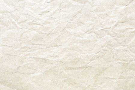 brown crumpled paper background texture Stockfoto - 132520195