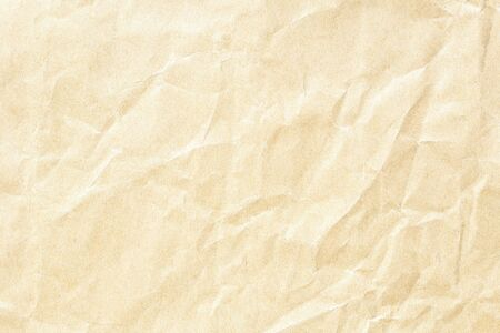 brown crumpled paper background texture Stockfoto