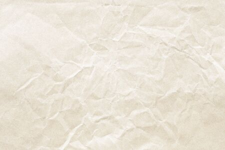 brown crumpled paper background texture Stockfoto - 132520224