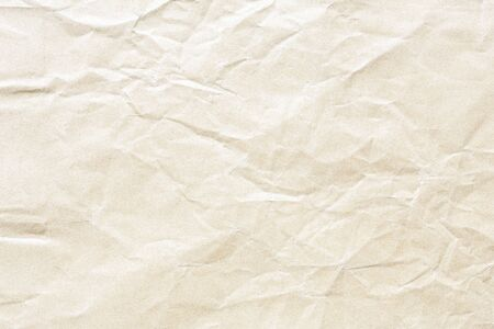 Old Brown crumpled kraft paper texture Stockfoto - 132519910