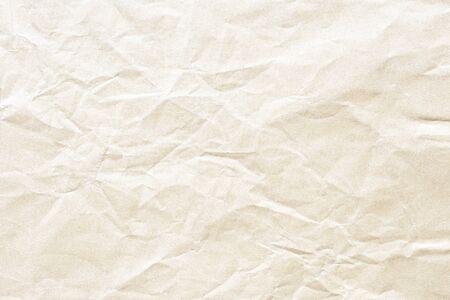 Old Brown crumpled kraft paper texture Stockfoto - 132519911