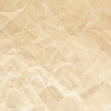 brown crumpled paper background texture Stockfoto - 132825852