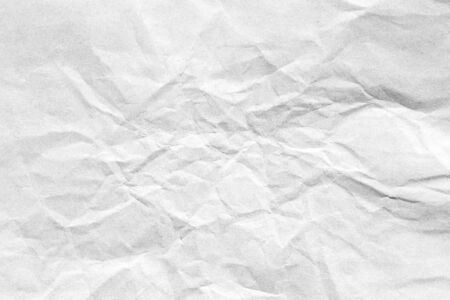 Crumpled gray paper detail background texture