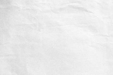 Crumpled white paper background texture Banque d'images - 156789673