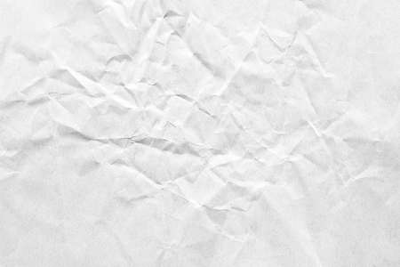 Crumpled white grey paper background texture Banque d'images