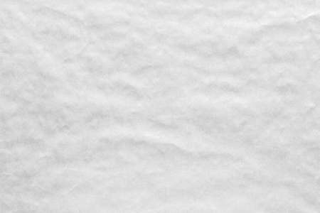 Crumpled white background paper texture