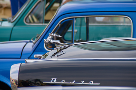 technics: the parade of vintage cars, Kharkov, Gorky Park, 5.09.2015