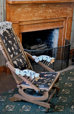 Antique Rocking Chair photo