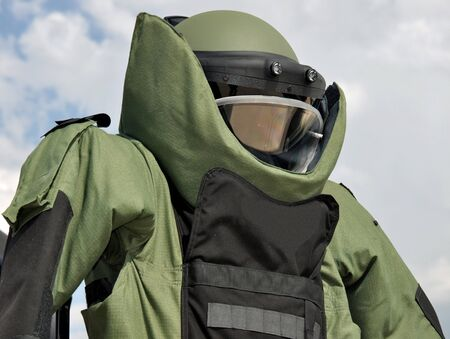 Bomb Disposal Suit Stock Photo - 8721023