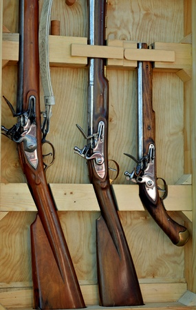 Naval Muskets on Display photo