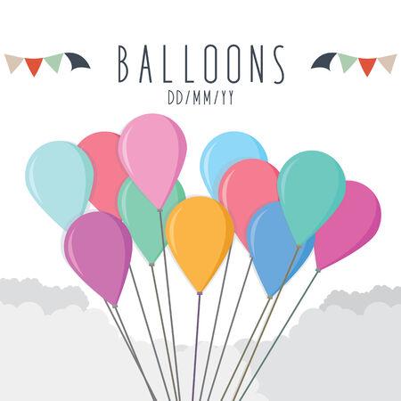 Balloons for celebration