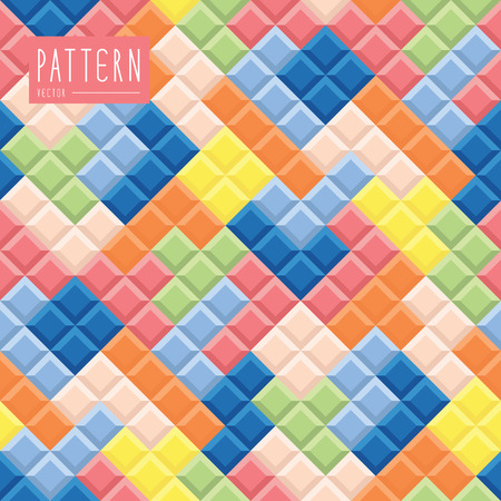 tetris: Seamless pattern contemporary and modern that you can change color.